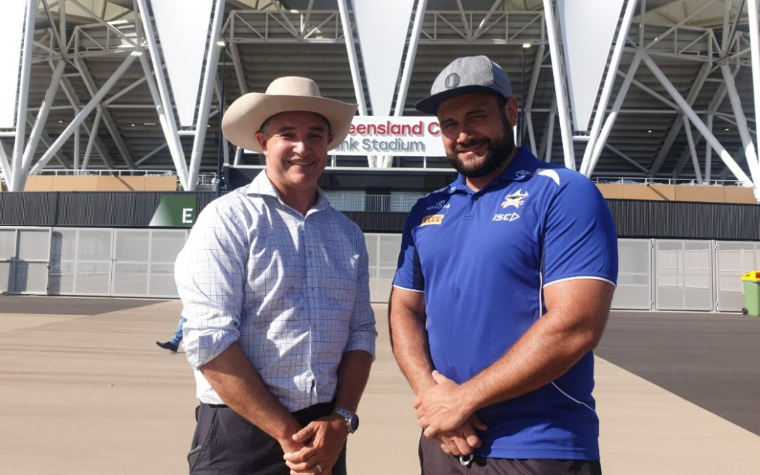 KATTER'S CALL TO IMMORTALISE LEAGUE LEGEND